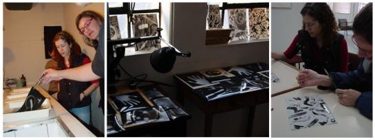 Oficina de Fotografia Alternativa - Casa de Cultura Mario Quintana e Museu de comunicação - 2008